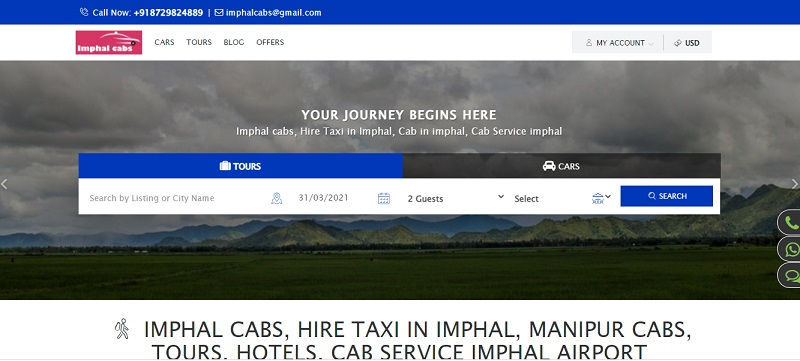 We have provided best SEO services to our client Imphal cabs